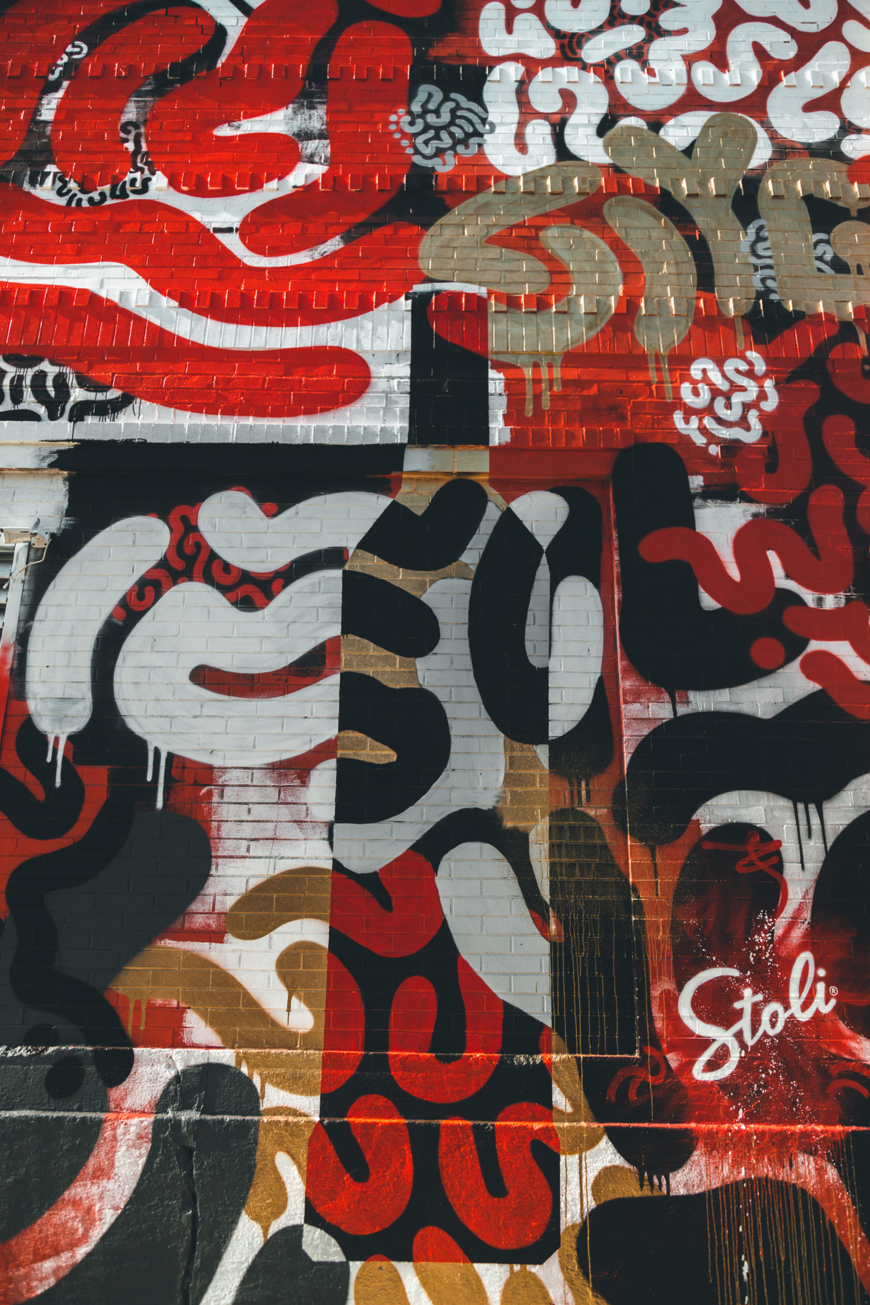 """Lefty Out There – Stoli """"Loud & Clear"""" Mural (Chicago)"""