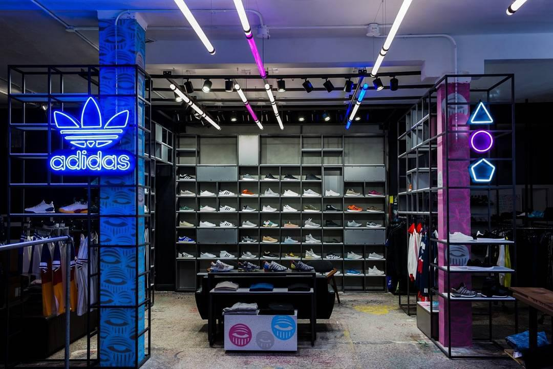 Adidas and Ahol Sniffs <br> Glue Opening at Shoe Gallery