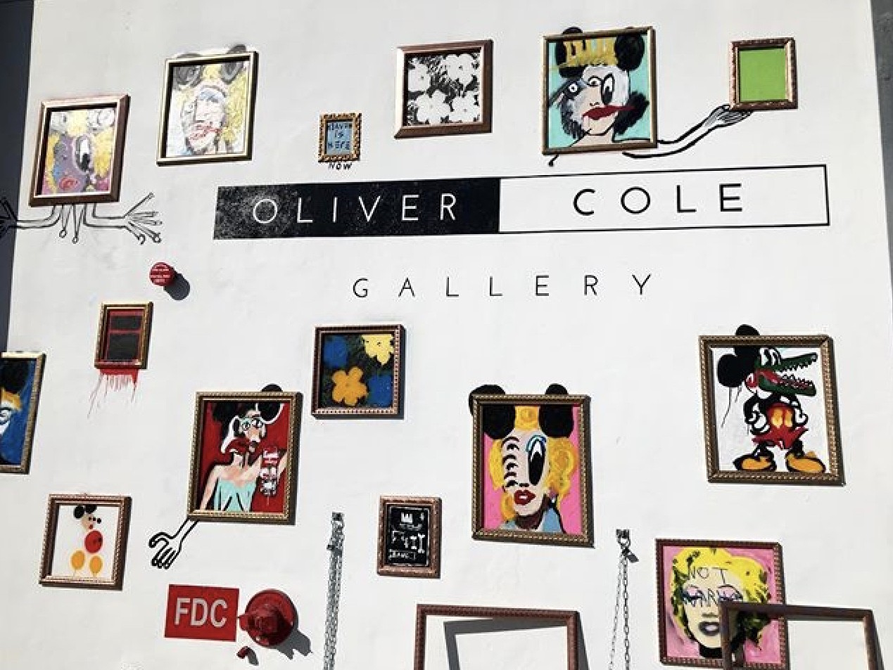 CB Hoyo x John Paul Fauves – Oliver Cole Gallery Mural