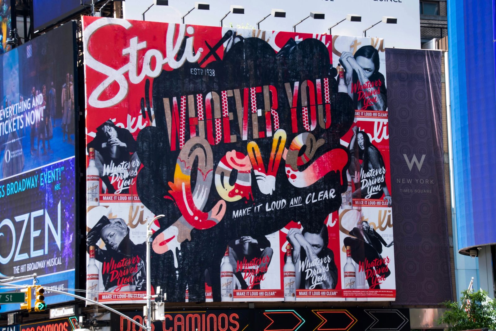 "Jason Naylor – Stoli ""Loud & Clear"" Mural (NYC)"