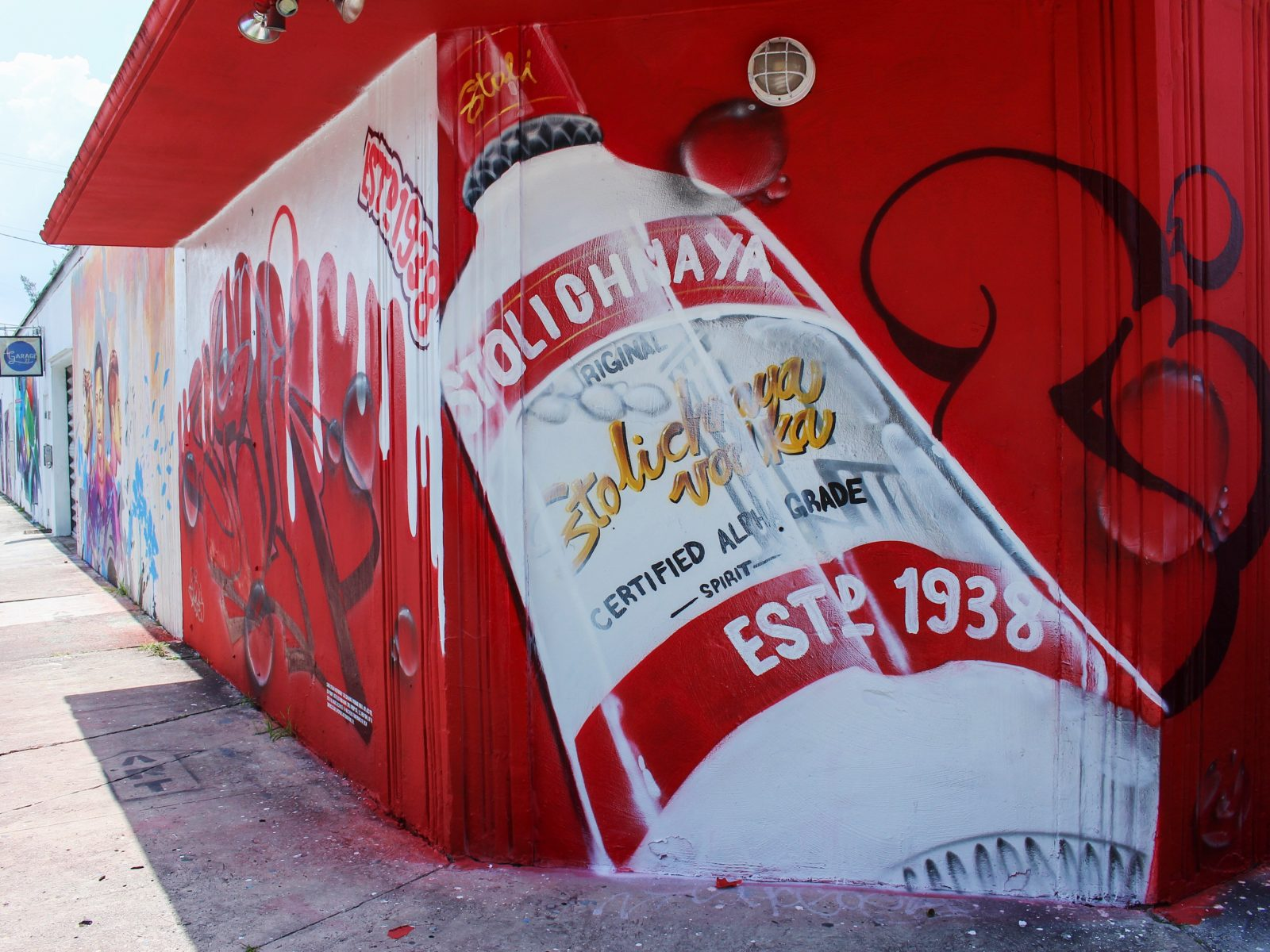 """Ripes – Stoli """"Loud & Clear"""" Mural (Fort Lauderdale)"""