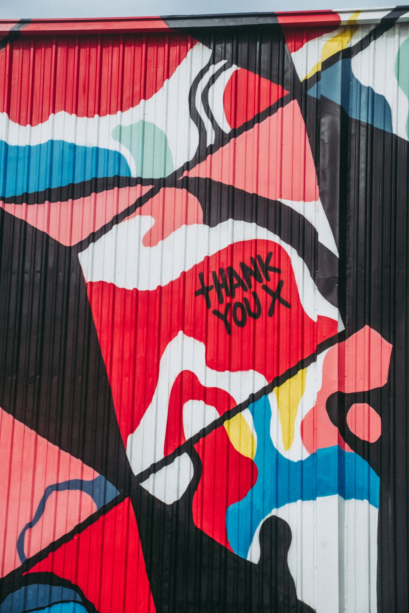 Nychos, LeftyOutThere, ThankYouX – Radius Chicago Mural