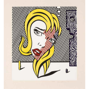 BLONDE, by Roy Lichtenstein