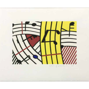 COMPOSITION IV, by Roy Lichtenstein