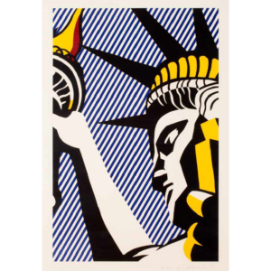 I love Liberty, by Roy Lichtenstein